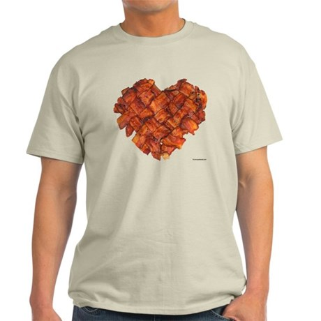 Bacon Heart - Light T-Shirt