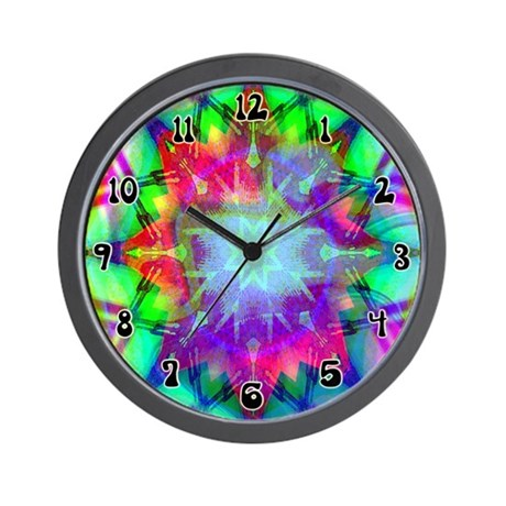 Colorful Star Wall Clock
