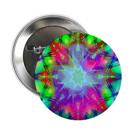 "Colorful Star 2.25"" Button (100 pack)"