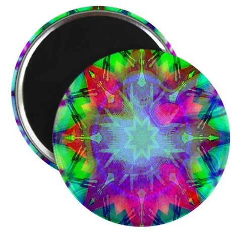 "Colorful Star 2.25"" Magnet (100 pack)"