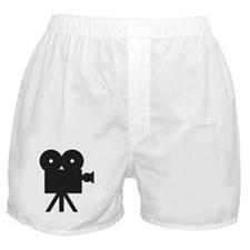 black cine camera hollywood Boxer Shorts