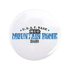 "Mountain Home Air Force Base 3.5"" Button"