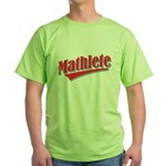 Mathlete Green T-Shirt