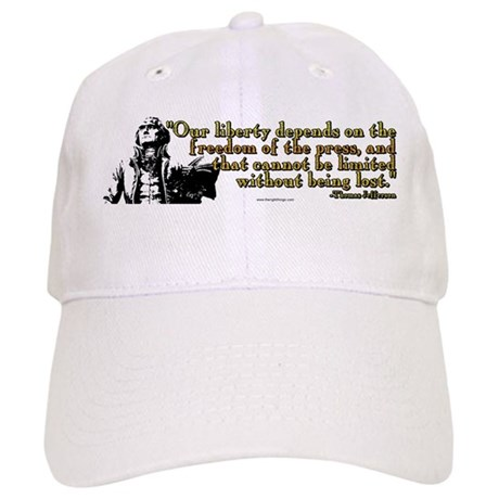 Thomas Jefferson Free Press Q Cap