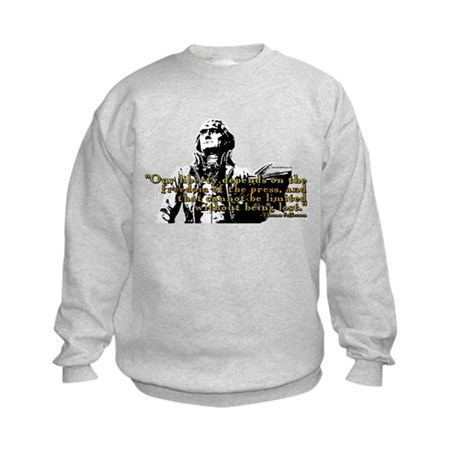 Thomas Jefferson Free Press Q Kids Sweatshirt