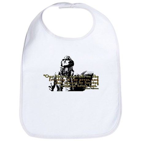 Thomas Jefferson Free Press Q Bib
