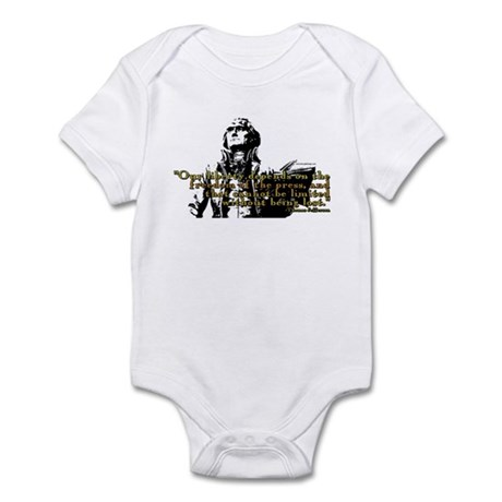 Thomas Jefferson Free Press Q Infant Bodysuit