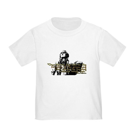 Thomas Jefferson Free Press Q Toddler T-Shi