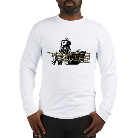 Thomas Jefferson Free Press Q Long Sleeve T-Shirt