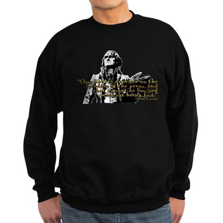 Thomas Jefferson Free Press Q Sweatshirt (dark)
