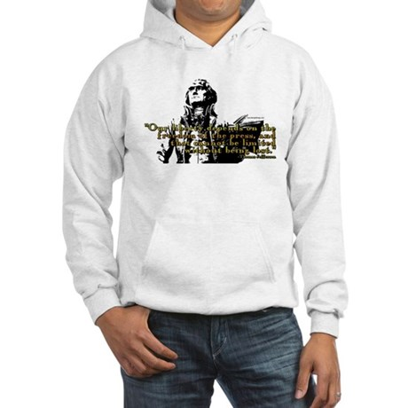 Thomas Jefferson Free Press Q Hooded Sweatshirt