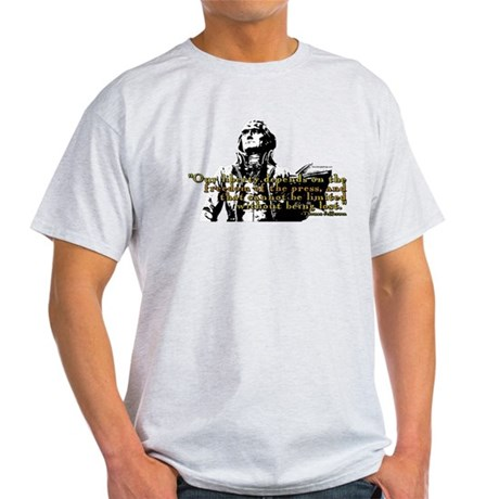Thomas Jefferson Free Press Q Light T-Shirt
