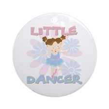Little Dancer Ornament (Round)