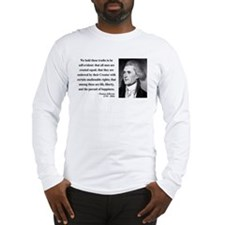 Thomas Jefferson 14 Long Sleeve T-Shirt