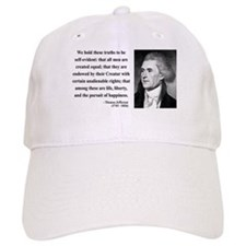 Thomas Jefferson 14 Baseball Cap