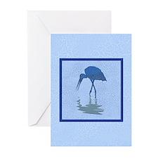 Blue Crane Greeting Cards (Pk of 20)