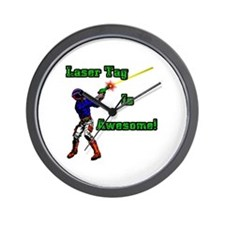 Laser Tag Wall Clock