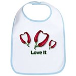 Valentine's Day Love It Bib