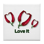 Valentine's Day Love It Tile Coaster