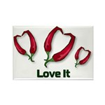 Valentine's Day Love It Rectangle Magnet (100 pack