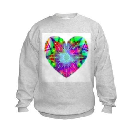Colorful Star Kids Sweatshirt