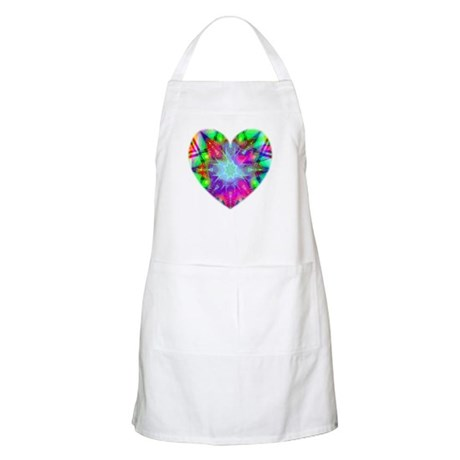 Colorful Star BBQ Apron