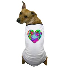 Colorful Star Dog T-Shirt