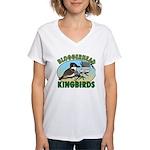 Bloggerhead (lg img) Women's V-Neck T-Shirt