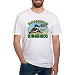 Bloggerhead (lg img) Fitted T-Shirt