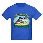 Bloggerhead (lg img) Kids Dark T-Shirt