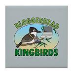 Bloggerhead (lg img) Tile Coaster