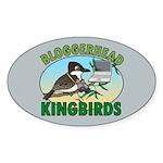 Bloggerhead (lg img) Oval Sticker