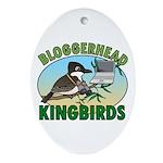 Bloggerhead (lg img) Oval Ornament