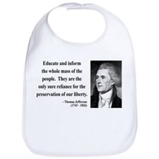 Thomas Jefferson 22 Bib