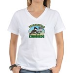 Bloggerhead (sm img) Women's V-Neck T-Shirt