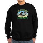Bloggerhead (sm img) Sweatshirt (dark)