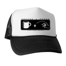 Coffee and Tubes Trucker Hat