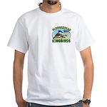 Bloggerhead (2-sided) White T-Shirt