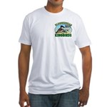 Bloggerhead (2-sided) Fitted T-Shirt