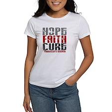 HOPE FAITH CURE Parkinson's Disease Tee