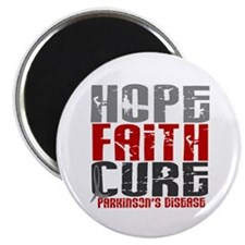 HOPE FAITH CURE Parkinson's Disease Magnet