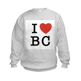 I Heart BC Sweatshirt