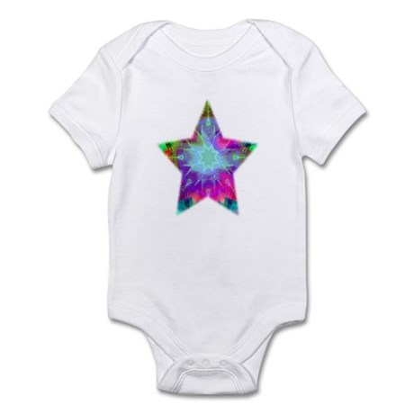 Colorful Star Infant Creeper