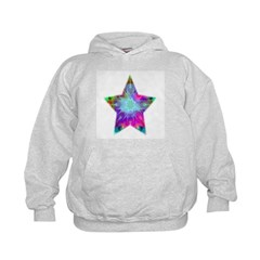Colorful Star Kids Hoodie