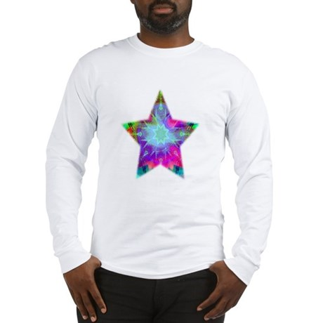 Colorful Star Long Sleeve T-Shirt