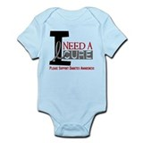 I Need a Cure Diabetes Infant Bodysuit
