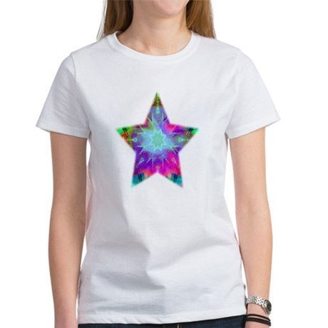 Colorful Star Women's T-Shirt