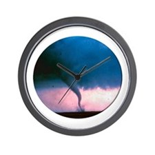 Tornado 2 Wall Clock