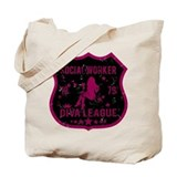 Social Worker Diva League Tote Bag