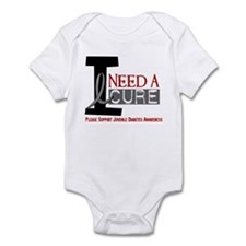 I Need A Cure JUVENILE DIABETES Infant Bodysuit